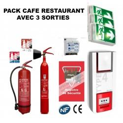 Pack Sécurité Incendie Cafés-restaurants