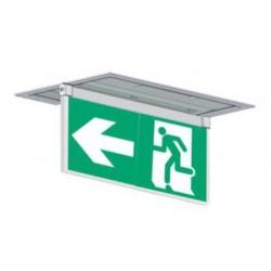 Porte sérigraphie encastré plafond