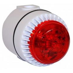 Sirène flash à LED 230 Vac