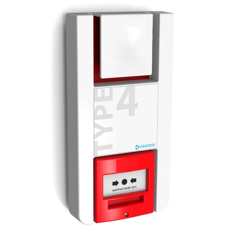 alarme de type 4 autonome fireless. Black Bedroom Furniture Sets. Home Design Ideas