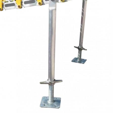 Pieds support pour rampe enroulable 900 à 1200 mm
