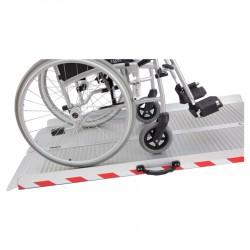 Rampe d'accès pliable en aluminium BASIK 610 mm
