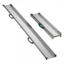 Rampe d'accès pliante double longueur 830 / 1600 mm