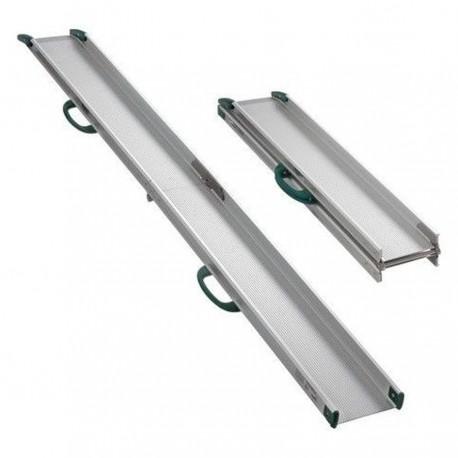Rampe d'accès pliante double longueur 1330 / 2600 mm