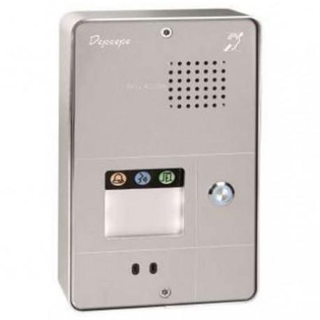 Portier téléphonique audio pour PMR 205 x 130 x 43 mm