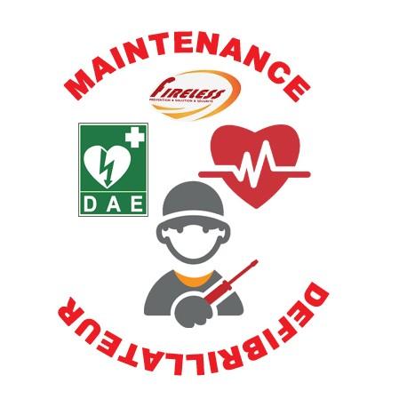 Contrat de Maintenance Annuel pour 2 défibrillateur