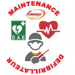 Contrat de Maintenance Annuel pour 1 défibrillateur