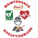 Contrat de Maintenance Annuel pour 5 défibrillateur