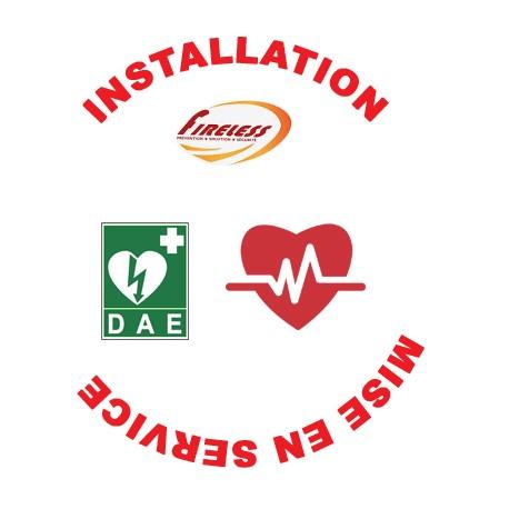 Installation et Mise en Service d'Un Défibrillateur