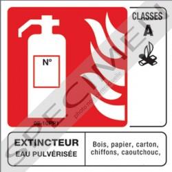 Panneaux Extincteur Classe A