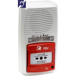 Alarme type 4 radio avec flash