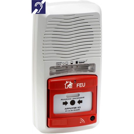 Alarme de type 4 radio avec flash