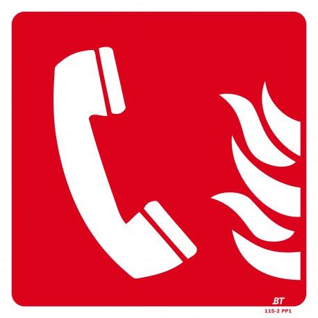 Panneau Emplacement téléphone