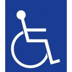 Picto handicapé PVC