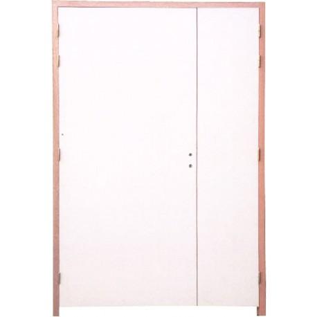 bloc porte 2 vantaux 204x93 53 ei60 fireless. Black Bedroom Furniture Sets. Home Design Ideas