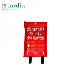 Couverture anti–feu 1.20m x 1.80m – Sachet souple