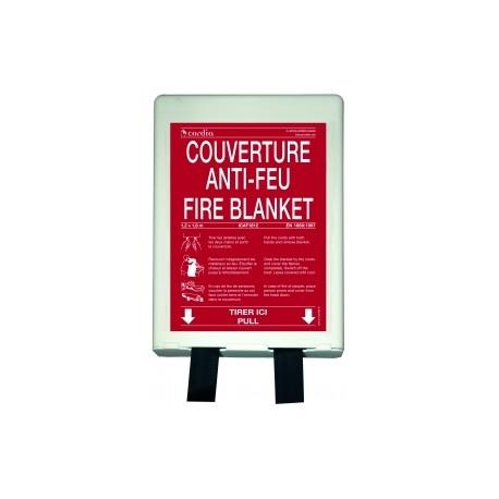 Couverture anti–feu 1.20m x 1.80m – Boitier PP
