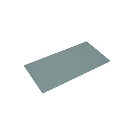 Plaque podotactile en polyuréthane gris en 825 x 420 mm à coller extérieur