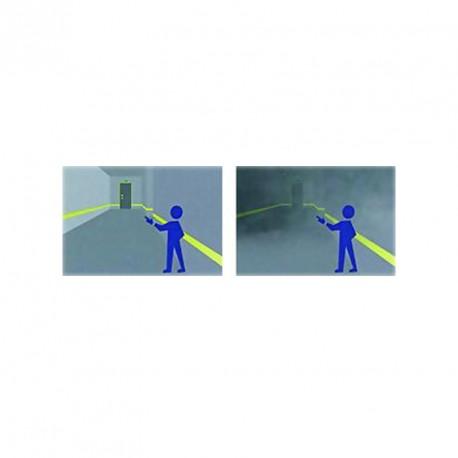 Film auto-adhésif photoluminescent pour balisage de sécurité