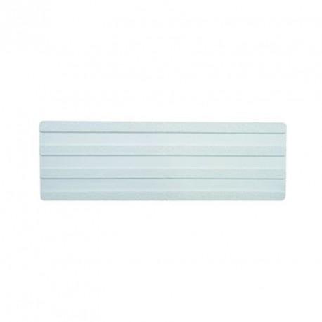Bande podotactile à coller. En 220 x 620 mm, à coller extérieur bande d'aide à l'orientation, blanc.extérieur.