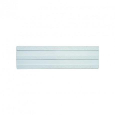 Bande podotactile, blanche, auto adhésive. En 150 x 600 mm adhésive intérieur