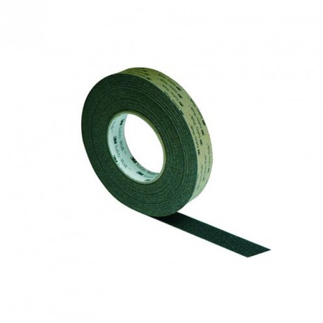 Rouleau adhésif antidérapant pour surface lisse en 25 mm x 18,3 m, Couleur noire