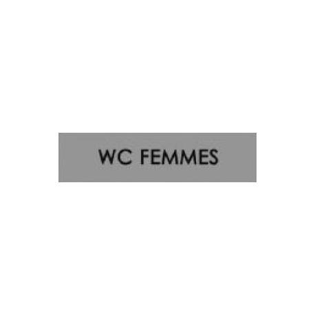 Plaques signalétiques WC Femmes