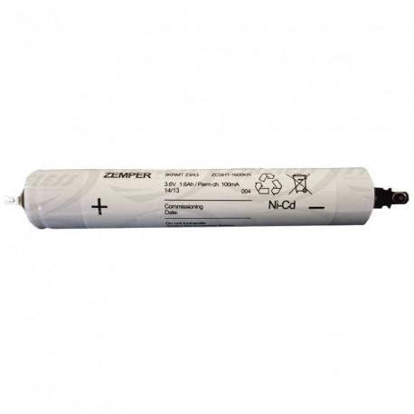 Batterie Zemper 3.6 V 1.6 AH CNI