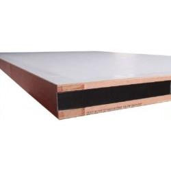 Bloc Portes EI60 204 x 83+83 mm droite - Huisserie bois double vantaux égaux ou inégaux (tiercés)