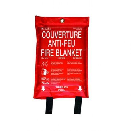 Couverture anti–feu 1.20m x 1.20m – Sachet souple