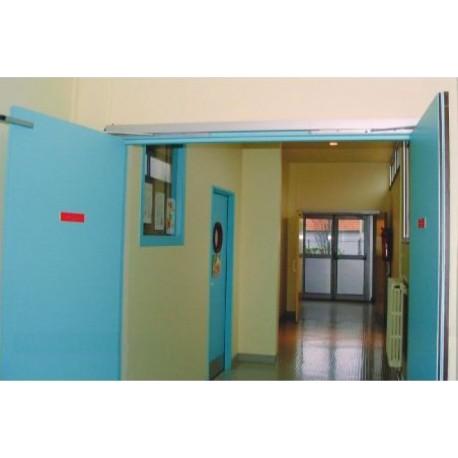 Bloc Porte DAS30SA 204 x 93+53 mm droite - Bandeau Jeldwen