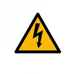 Panneau danger électrique- Adhésif vinyle