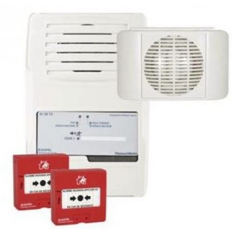 Pack alarmes incendie type 4