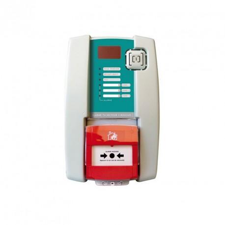 Alarme de type 4 secteur 3 boucles avec DM et sirène intégrés