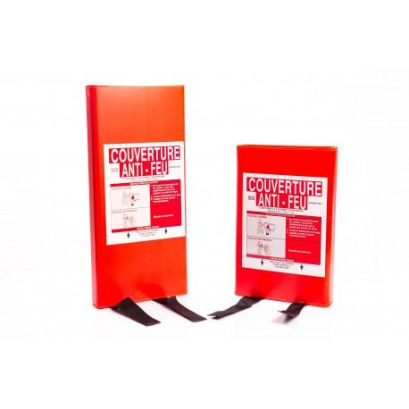 Couverture anti–feu 1.20m x 1.20m – Boitier PP