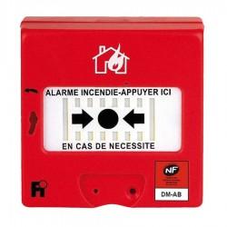 BOITIER BRIS DE GLACE ADRESSABLE AVEC ISOLATEUR DE COURT CIRCUIT NEMO 112A