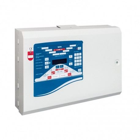 ECS/CMSI - Alarme Type 1 conventionnel 16 zones + batterie + AES