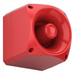 Diffuseur sonore forte puissance industrielle rouge 96dB étanche IP66
