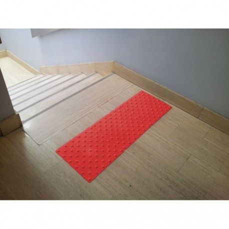 Dalle podotactile intérieure WATELIN rouge 825 x 420 mm
