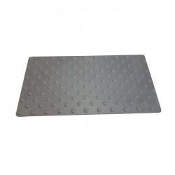 Dalle podotactile en polymère avec adhésif épais gris 412 x 1200 mm