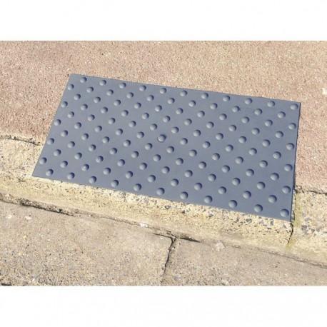 Dalle podotactile WATLEX Compound Vinylique gris 420 x 825 mm