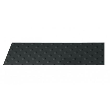 Dalle podotactile extérieure WATLEX à coller noir 445 x 400 mm
