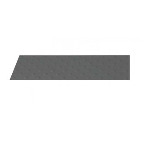 Dalle Podotactile Auto-Adhésive extérieure Butyl Watlex gris 1350 x 400 mm