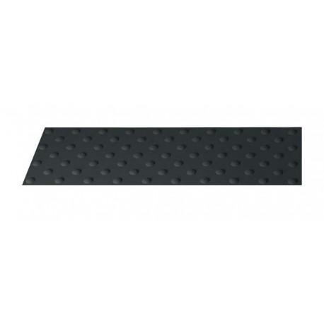 Dalle Podotactile Auto-Adhésive Extérieure BUTYL watlex noir 445 x 400 mm
