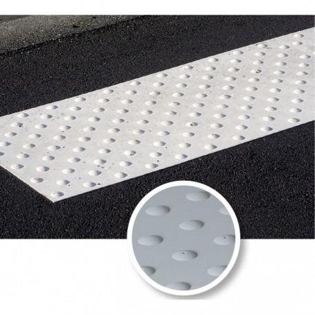 Dalle podotactile à coller extérieure blanche WATLEX 445 x 400 mm