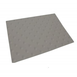 Dalle podotactile à coller Grise WATLEX 445 x 400 mm