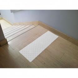 Dalle podotactile auto-adhésive blanche Watelin intérieure 445 x 400 mm