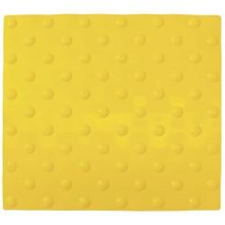 Dalle podotactile auto-adhésive Watelin intérieure jaune 445 x 400 mm