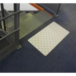 Dalle Podotactile TOLPLOT en aluminium anodisé naturel 800 x 420 mm