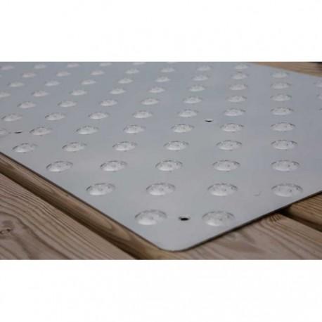 Dalle podotactile INOXGRIP 975 x 420 mm